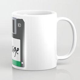 Vintage Floppy Disk Coffee Mug