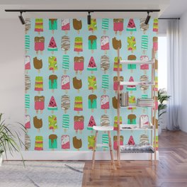 Ice Cream Time Wall Mural