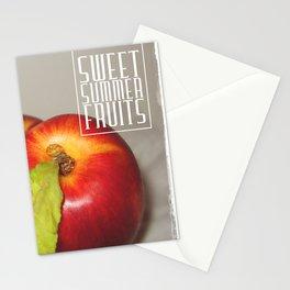 Sweet summer fruits (Nectarines) Stationery Cards