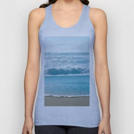 Blue Sea Backdrop Unisex Tank Top