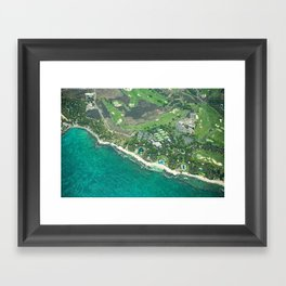 Hawaii Coast Framed Art Print