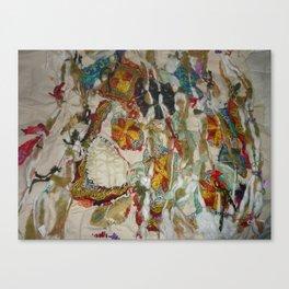 Shamanic tribal visions Canvas Print