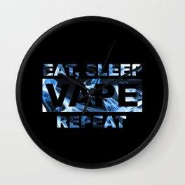 Vape On Wall Clock