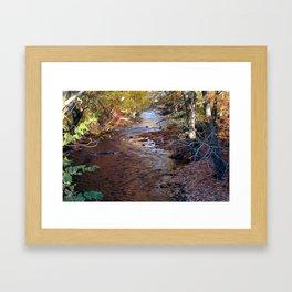 Mill River Framed Art Print