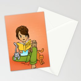 Cat Lady Stationery Cards