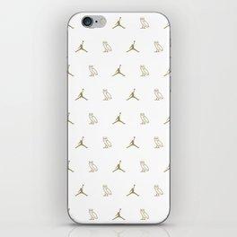 Jumpman - White iPhone Skin