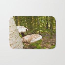 Forest wild mushrooms Bath Mat