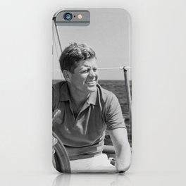 JFK Sailing On Vacation iPhone Case