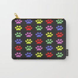 Paw Prints Pattern II Carry-All Pouch