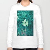 clover Long Sleeve T-shirts featuring Clover by Felipe Flores