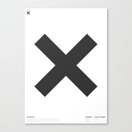 X is for The XX Canvas Print