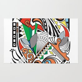 Abstract Dream Rug