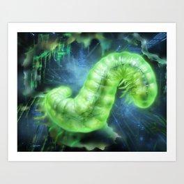 Netrunner: Parasite Art Print