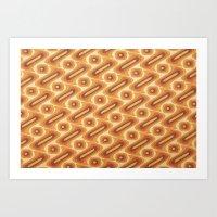 Pattern 1 v2 Art Print