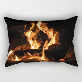 Warm me up Rectangular Pillow