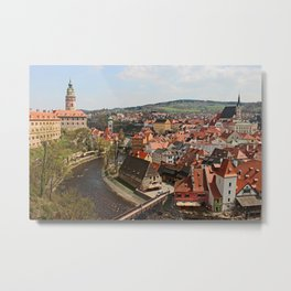 Little Czech Metal Print