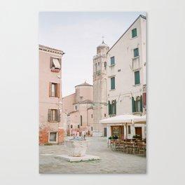 Quiet Venice Alley Canvas Print