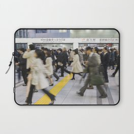 Japanese Hustle and Bustle Laptop Sleeve