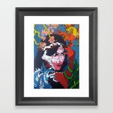 The Sultrine Sinister Framed Art Print
