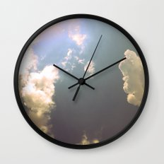 Now That the Rain Is Gone Wall Clock