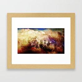 In autumn mood... Framed Art Print