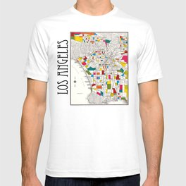 Los Angeles Streets T-shirt