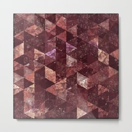 Abstract Geometric Background #25 Metal Print