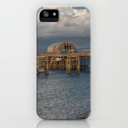 Mumbles pier and lifeboat station iPhone Case