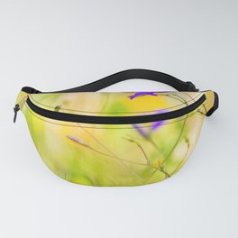 Beauty of wildflowers in the garden IV Fanny Pack