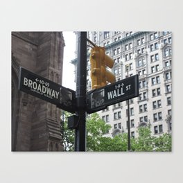 Crossroads Canvas Print