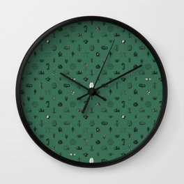 House of the Cunning - Pattern II Wall Clock
