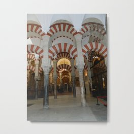 La Mezquita Metal Print