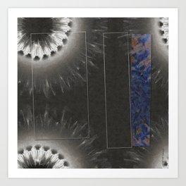 Wormling Concord Flowers  ID:16165-022225-08511 Art Print