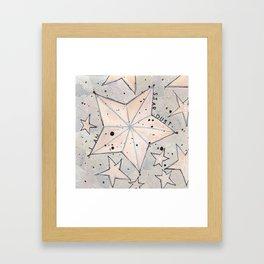 I Am Stardust Series 1.4 Framed Art Print