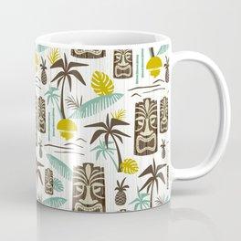Island Tiki - White Coffee Mug