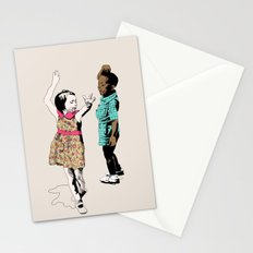 Dancing Kids Stationery Cards