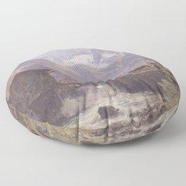 Hoher Dachstein From Lower Gosau 1838 by Rudolf von Alt | Reproduction Floor Pillow