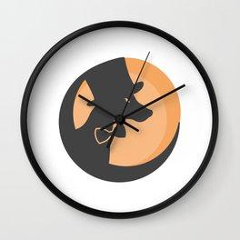 Doberman #society6 #decor #buyart #artprint Wall Clock
