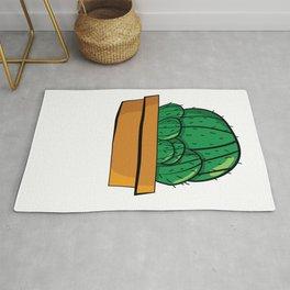 Cactus familia Majeran Illustration Rug