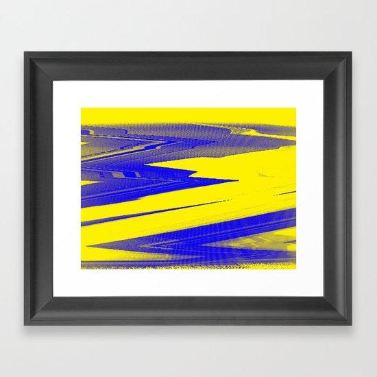 Digital Died/Sour Framed Art Print