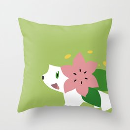Shaymin Throw Pillow