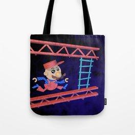 Run Mario run Tote Bag