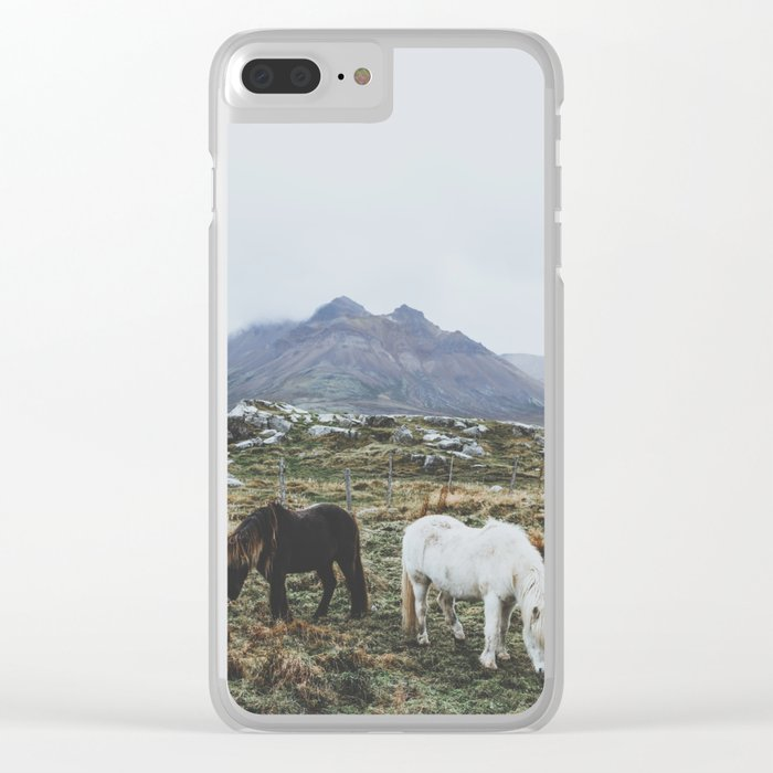 Iceland X Clear iPhone Case
