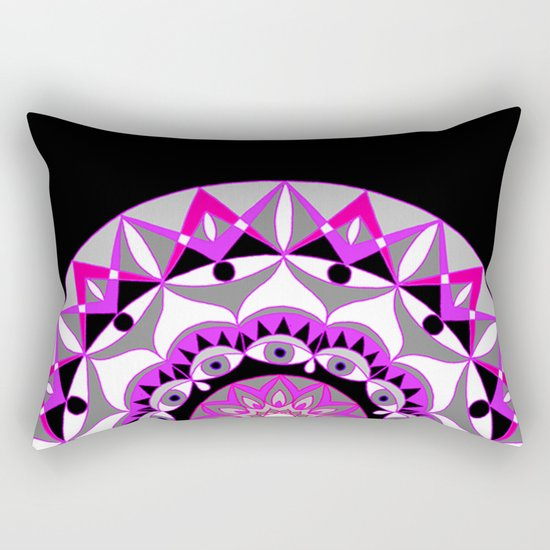 My Love Mandhala | Secret Geometry | Energy Symbols Rectangular Pillow