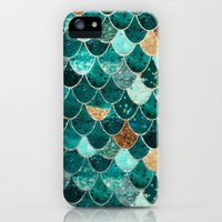 iPhone 5/5s Case featuring REALLY MERMAID by Monika Strigel®