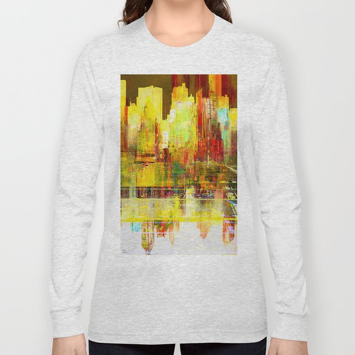 Reflection of a city Long Sleeve T-shirt