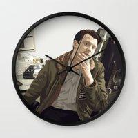 british Wall Clocks featuring British Intelligence by AdamAether
