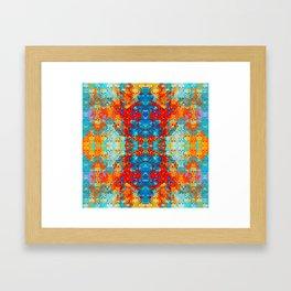 popanaart_pattern Framed Art Print