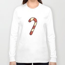 Christmas Candy Cane Long Sleeve T-shirt