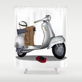 Vespa GS & Casual Stuffs Shower Curtain